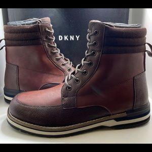 BNIB DKNY Winston Mens Combat Winter Boot